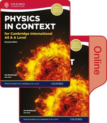 Physics in Context for Cambridge International AS  A Level Print and Online Student Book Pack