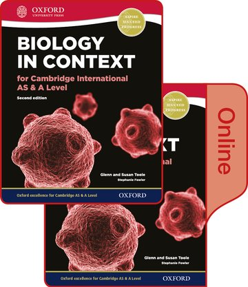 Biology in Context for Cambridge International AS  A Level Print and Online Student Book Pack