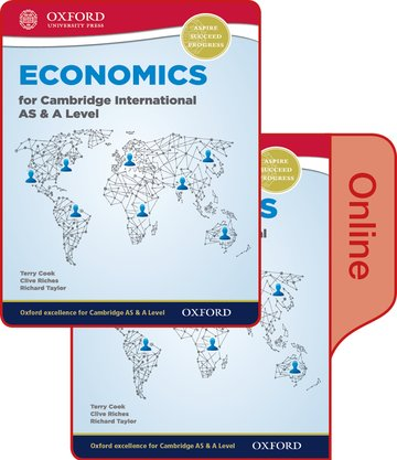 Economics for Cambridge International AS and A Level Print  Online Student Book (First Edition)