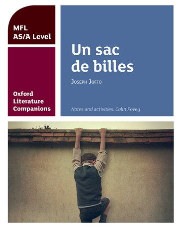 Oxford Literature Companions: Un sac de billes: study guide for AS/A Level French set text
