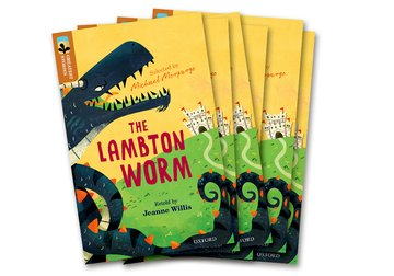 Oxford Reading Tree TreeTops Greatest Stories: Oxford Level 8: The Lambton Worm Pack 6