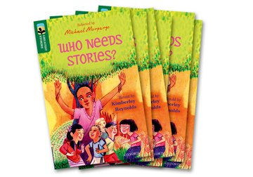 Oxford Reading Tree TreeTops Greatest Stories: Oxford Level 12: Who Needs Stories? Pack 6