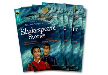 Oxford Reading Tree TreeTops Greatest Stories: Oxford Level 16: Shakespeare Stories Pack 6