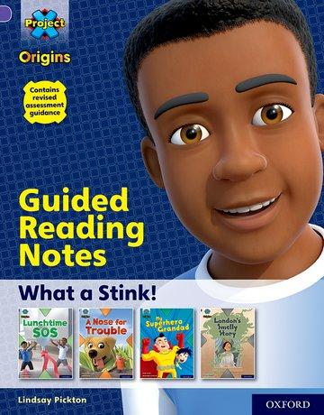 Project X Origins: Purple Book Band, Oxford Level 8: What a Stink!: Guided reading notes