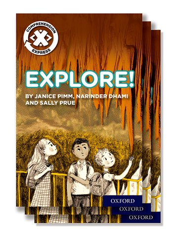 Project X <i>Comprehension Express</i>: Stage 1: Explore! Pack of 15