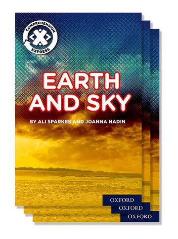 Project X <i>Comprehension Express</i>: Stage 1: Earth and Sky Pack of 15