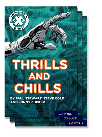 Project X <i>Comprehension Express</i>: Stage 3: Thrills and Chills Pack of 15