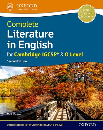 Complete Literature in English for Cambridge IGCSE  O Level