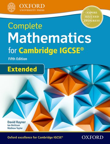 Complete Mathematics for Cambridge IGCSE® Student Book (Extended