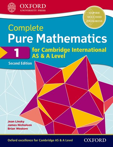 Complete Pure Mathematics 1 for Cambridge International AS  A Level