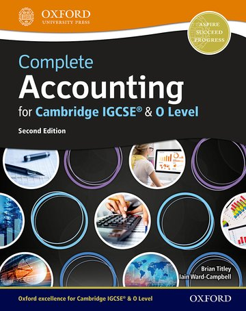 Complete Accounting For Cambridge IGCSE O Level Oxford