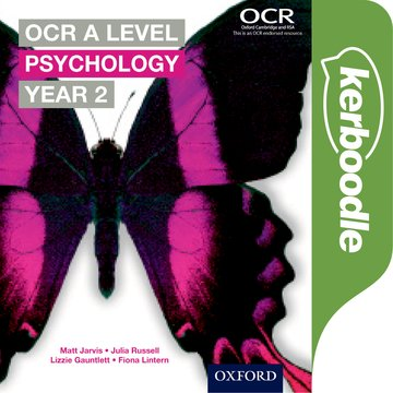 OCR A Level Psychology Year 2 Kerboodle Book