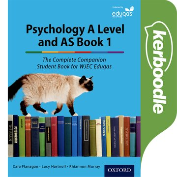 The Complete Companions for Eduqas: Year 1 and AS Psychology Kerboodle Book