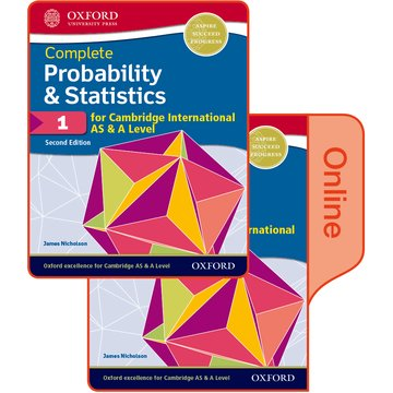 Probability  Statistics 1 for Cambridge International AS  A Level