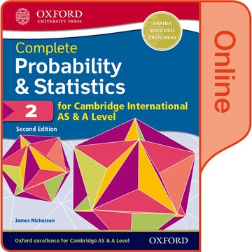 Probability  Statistics 2 for Cambridge International AS  A Level