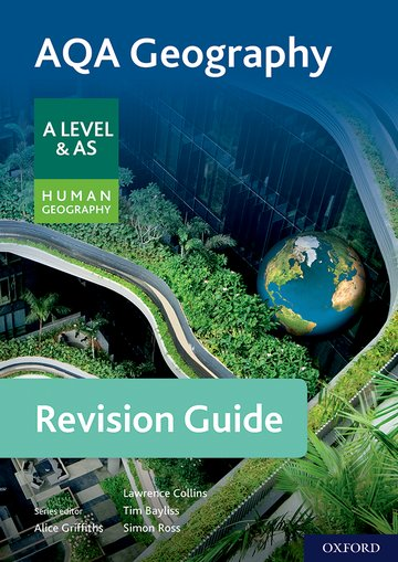 AQA Geography for A Level  AS Human Geography Revision Guide