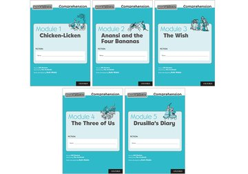 Read Write Inc. Comprehension: Modules 1-5 Mixed Pack of 5 (1 of each title)