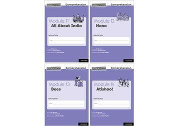 Read Write Inc. Comprehension: Modules 11-14 Mixed Pack of 4 (1 of each title)