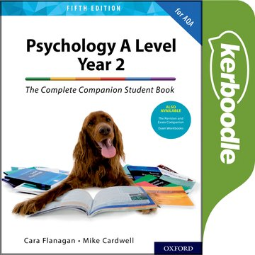 Psychology A Level Year 2: The Complete Companion Student Book for AQA Kerboodle Book