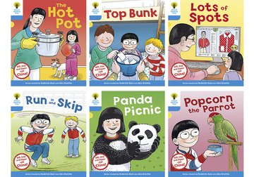 Oxford Reading Tree Biff, Chip and Kipper Stories Decode and Develop China Stories: Level 3: Pack of 6
