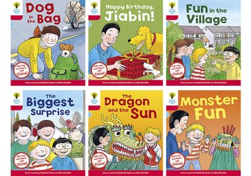 Oxford Reading Tree Biff, Chip and Kipper Stories Decode and Develop China Stories: Level 4: Pack of 6