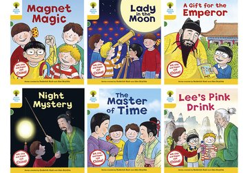 Oxford Reading Tree Biff, Chip and Kipper Stories Decode and Develop China Stories: Level 5: Pack of 6