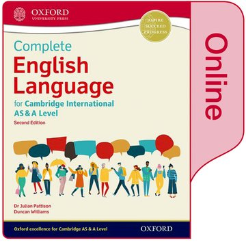 Complete English Language for Cambridge International AS  A Level