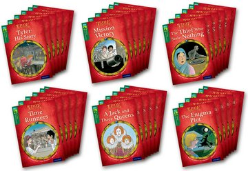 Oxford Reading Tree TreeTops Time Chronicles: Level 12: Pack of 36