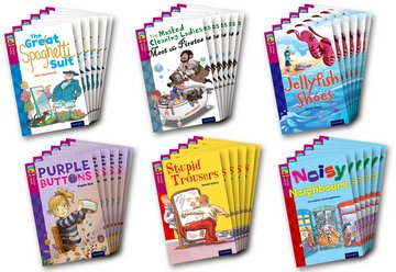 Oxford Reading Tree TreeTops Fiction: Level 10 More Pack A: Pack of 36