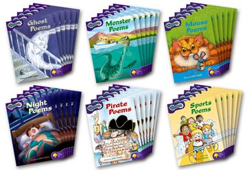 Oxford Reading Tree: Level 11: Glow-worms: Class Pack (36 books, 6 of each title)