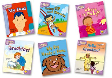 Oxford Reading Tree: Level 1+: Snapdragons: Pack (6 books, 1 of each title)