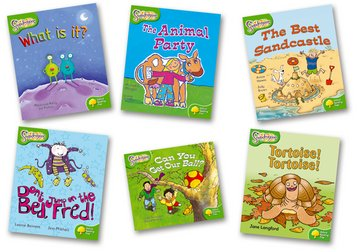 Oxford Reading Tree: Level 2: Snapdragons: Pack (6 books, 1 of each title)