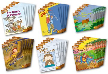 Oxford Reading Tree: Level 8: Snapdragons: Class Pack (36 books, 6 of each title)