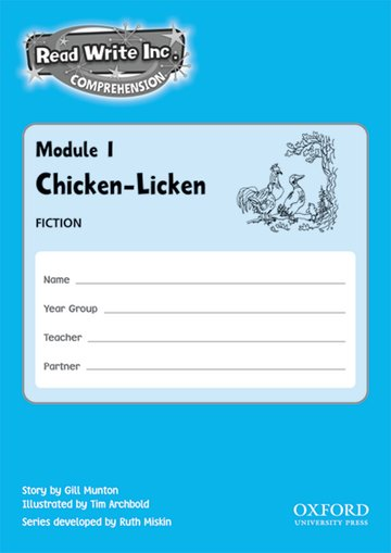 Read Write Inc. Comprehension: Modules 1-5: Pack of 5