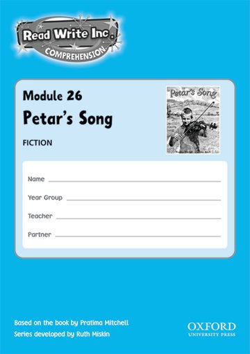 Read Write Inc. Comprehension: Modules 26-30: Pack of 5 books