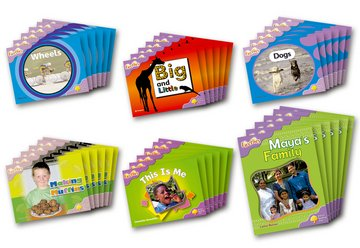 Oxford Reading Tree: Level 1+: Fireflies: Class Pack (36 books, 6 of each title)