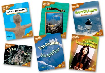 Oxford Reading Tree: Level 8: Fireflies: Pack (6 books, 1 of each title)