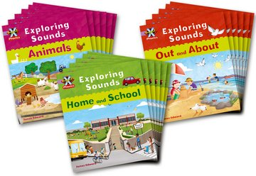 Project X Phonics Lilac: Class Pack of 18