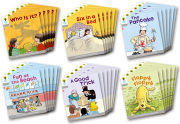 Oxford Reading Tree: Level 1: First Words: Class Pack of 36
