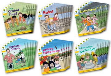 Oxford Reading Tree: Level 5: Decode and Develop Class Pack of 36