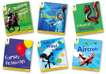 Oxford Reading Tree: Level 5A: Floppy's Phonics Non-Fiction: Pack of 6