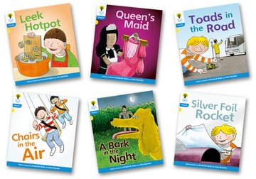 Oxford Reading Tree: Level 3: Floppy's Phonics Fiction: Pack of 6