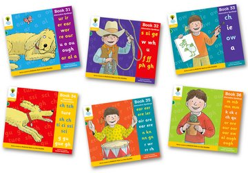Oxford Reading Tree: Level 5A: Floppy's Phonics: Sounds and Letters: Pack of 6