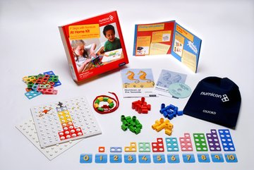 Numicon: 1st Steps with Numicon At Home Book/Bundle Kit