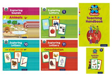 Project X Phonics: Phases 1-4 Adoption Pack