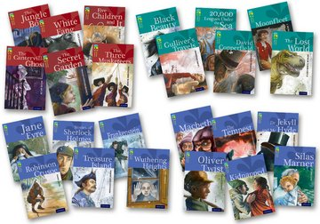 Oxford Reading Tree TreeTops Classics: Levels 15-17: Super Easy Buy Pack