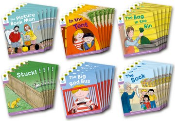 Oxford Reading Tree: Level 1+ More A Decode and Develop Class Pack of 36
