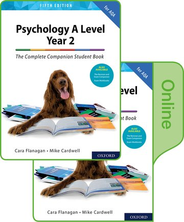 The Complete Companions for AQA Year 2 Student Book Print and Online Book pack