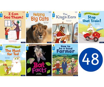 Oxford Reading Tree Word Sparks: Level 3: Class Pack of 48