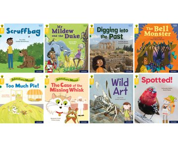 Oxford Reading Tree Word Sparks: Level 5: Mixed Pack of 8
